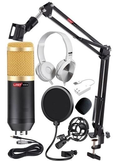 Bludfire BM800 Canlı Yayın Mikrofon Seti / Stüdyo Ses Kaydı / Montaj Bom Standı Renkli